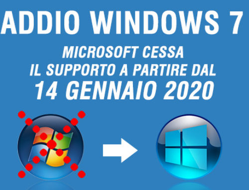 Fine supporto Windows 7 e Office 2010